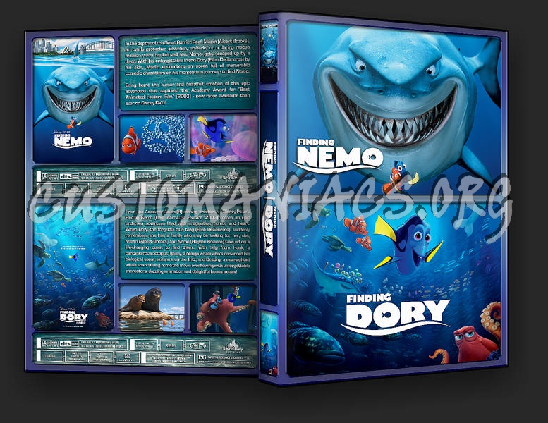 The Finding Nemo Collection dvd cover