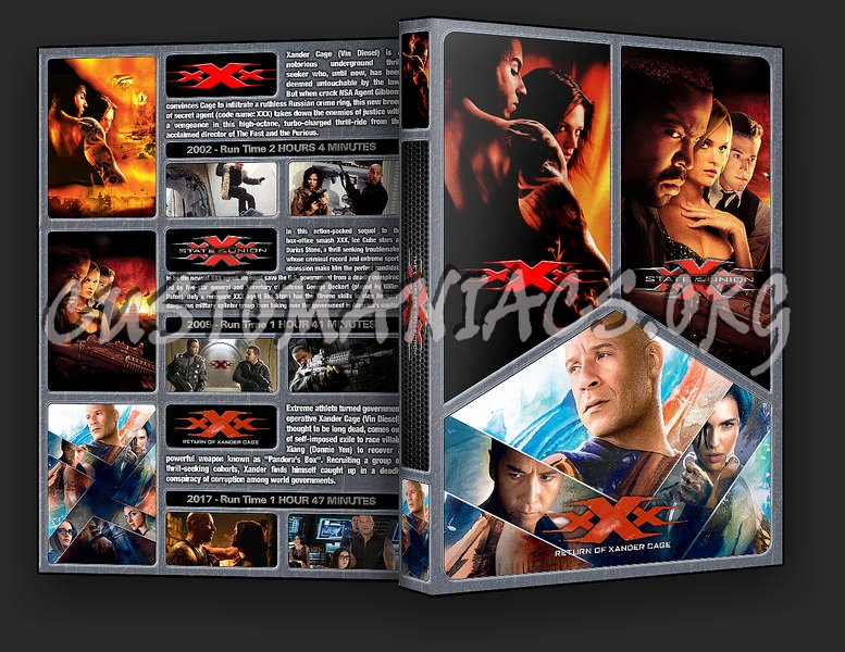 The XXX Collection dvd cover