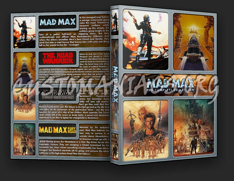 The Mad Max Collection dvd cover