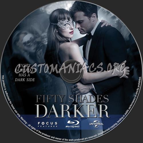 Fifty Shades Darker blu-ray label