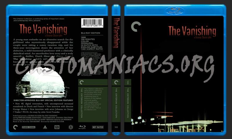 133 - The Vanishing blu-ray cover