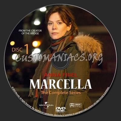 Marcella dvd label
