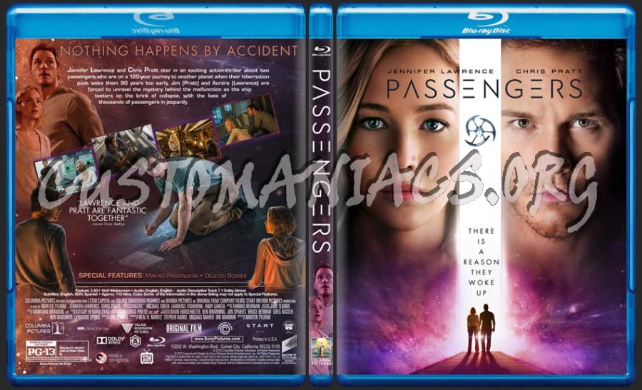 Passengers (2016) blu-ray cover