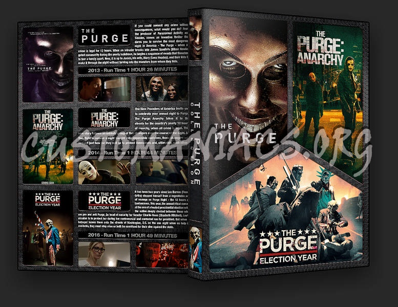 The Purge Collection dvd cover