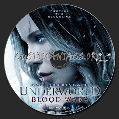 Underworld: Blood Wars blu-ray label
