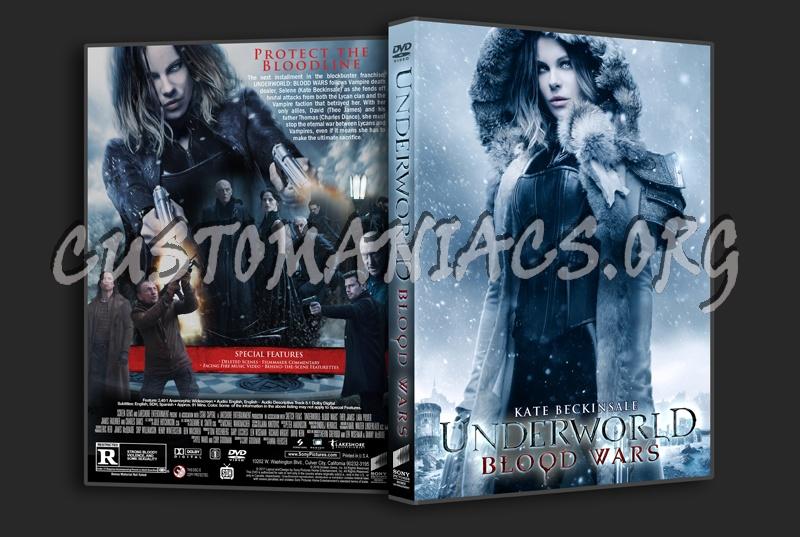 Underworld: Blood Wars dvd cover