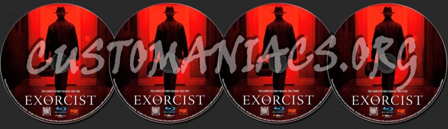 The Exorcist Season 1 blu-ray label