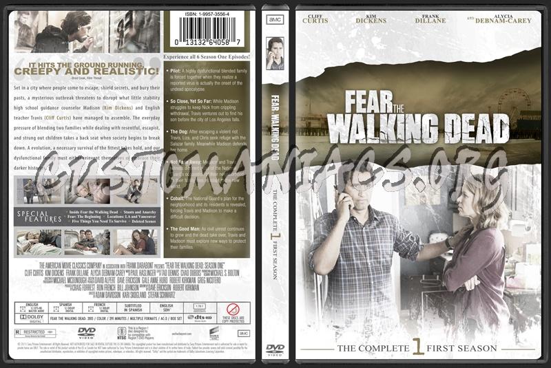 Fear the Walking Dead Season 1 dvd cover