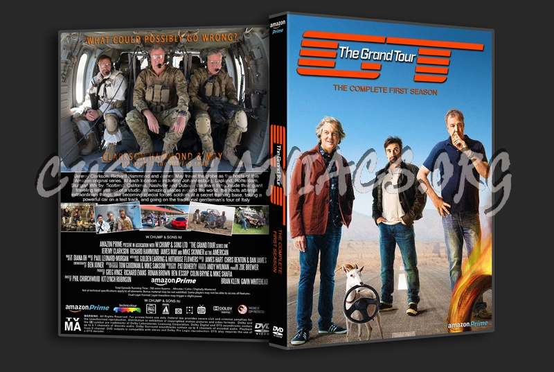 the grand tour season 1 dvd cover dvd covers labels by customaniacs id 244151 free. Black Bedroom Furniture Sets. Home Design Ideas