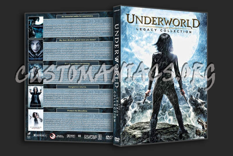 Underworld: The Legacy Collection dvd cover