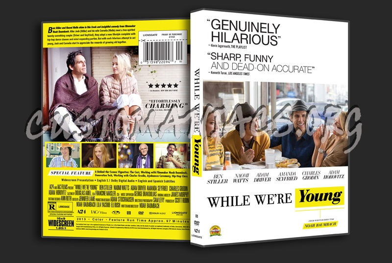 While We\'re Young dvd cover