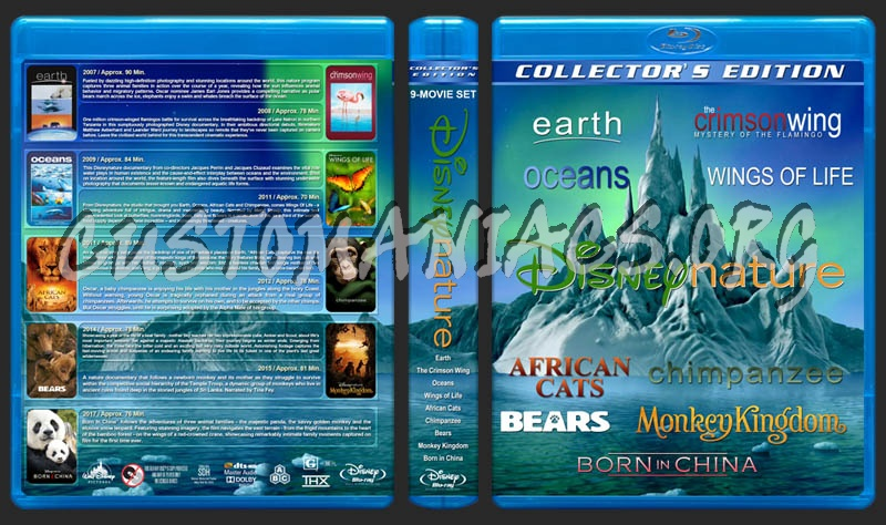 DisneyNature Collection (9) blu-ray cover