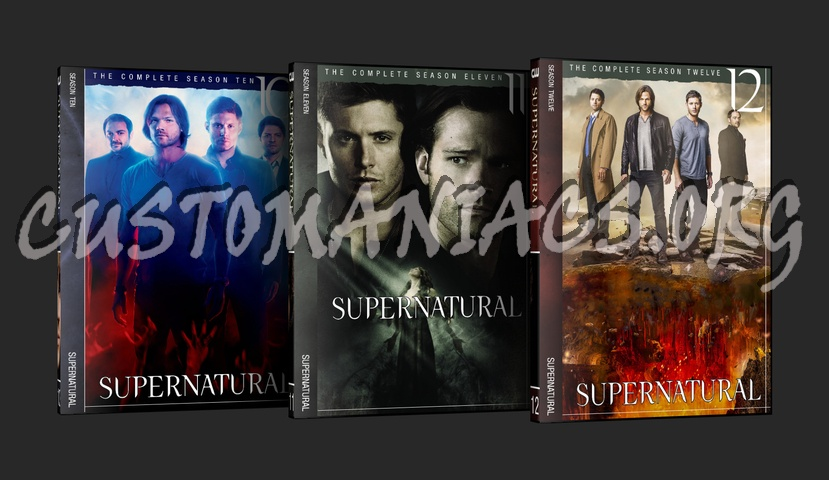 Supernatural dvd cover
