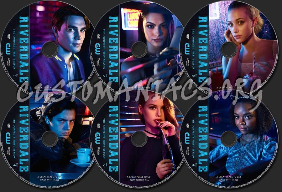 Riverdale Season 1 dvd label