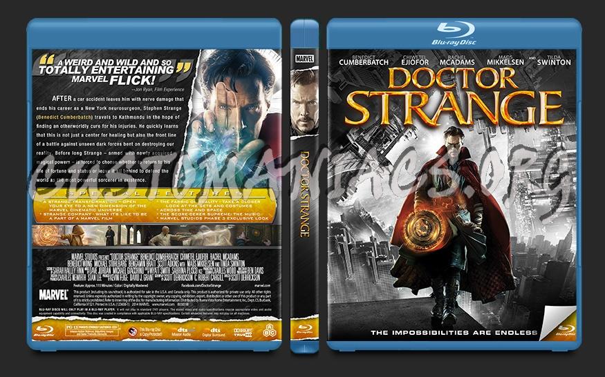 Doctor Strange blu-ray cover