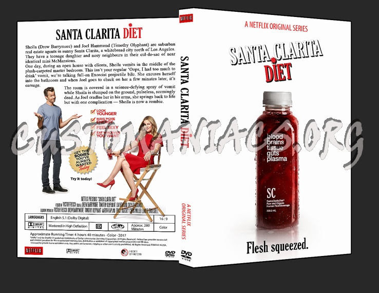 Santa Clarita Diet dvd cover