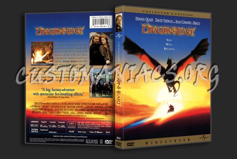DragonHeart dvd cover