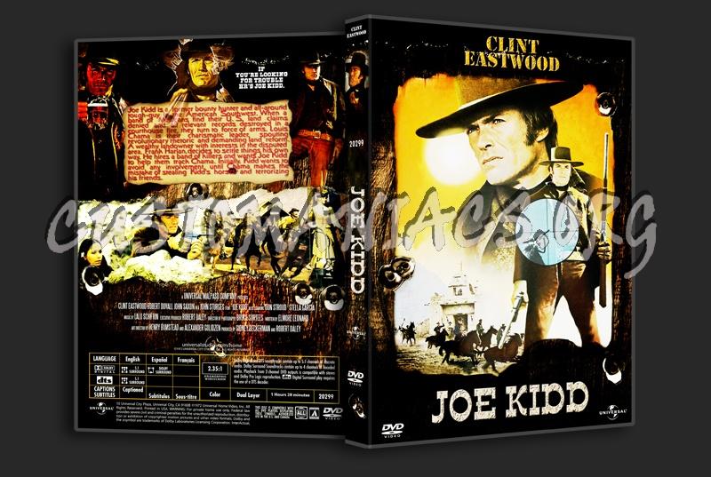 Joe Kidd dvd cover