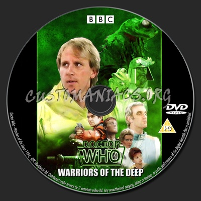 Doctor Who - Season 21 dvd label