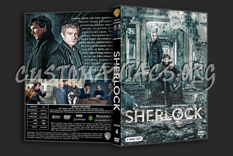 Sherlock - Season 4 dvd cover - DVD Covers & Labels by Customaniacs