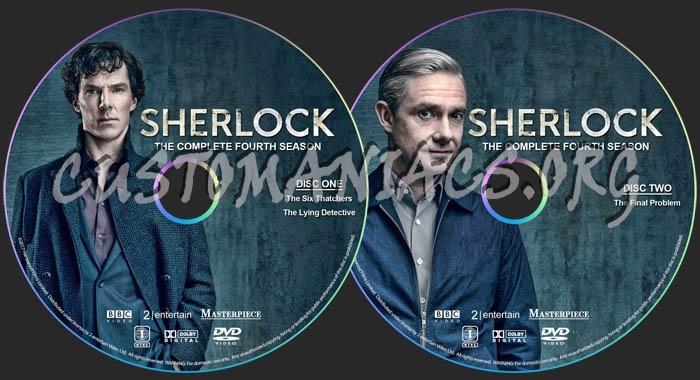 Sherlock - Season 4 dvd label - DVD Covers & Labels by