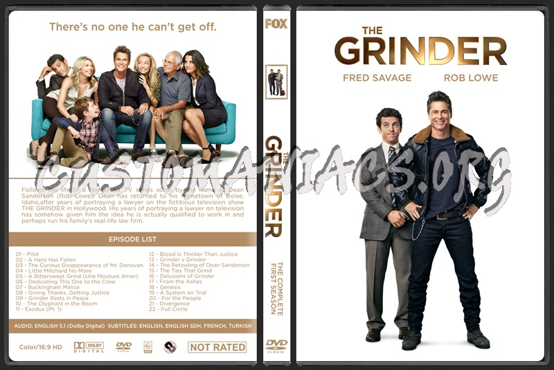 The Grinder (Season 1) dvd cover
