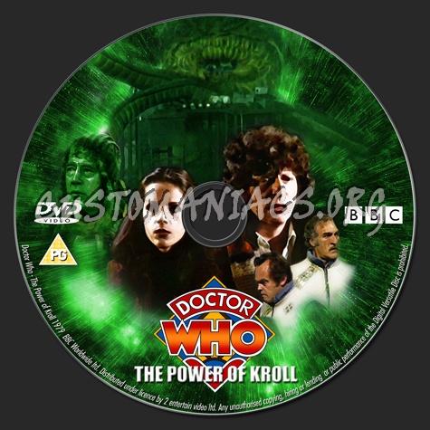 Doctor Who - Season 16 dvd label