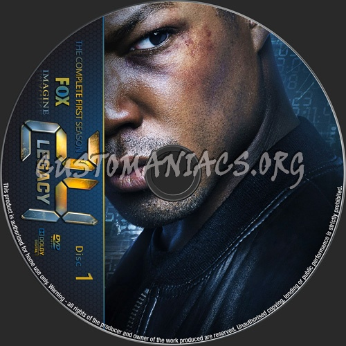 24 Legacy Season 1 dvd label - DVD Covers & Labels by