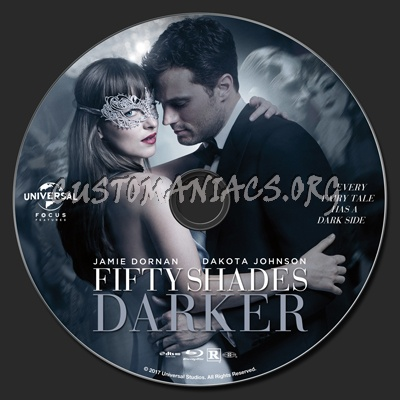 Fifty Shades Darker blu-ray label