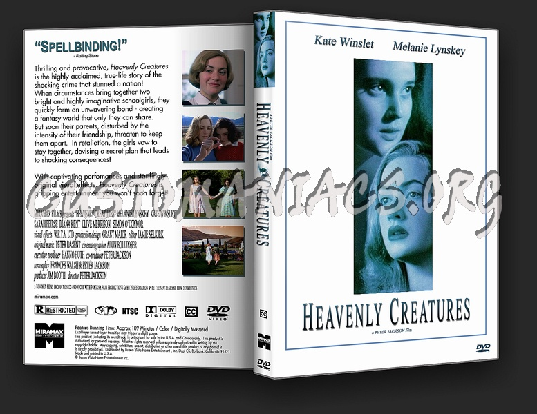 Heavenly Creatures dvd cover