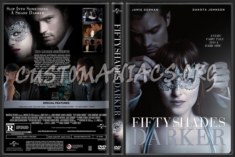 Fifty Shades Darker dvd cover