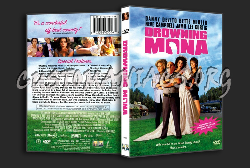 Drowning Mona dvd cover