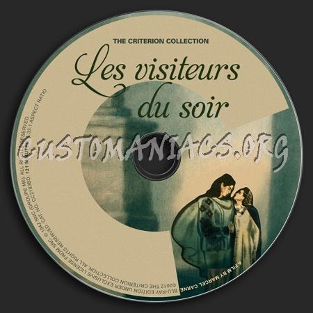 626 - Les Visiteurs Du Soir dvd label