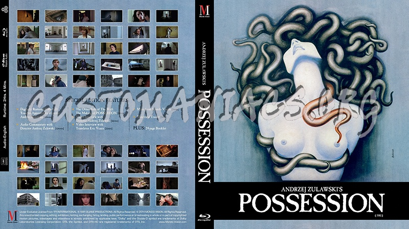 Possession blu-ray cover