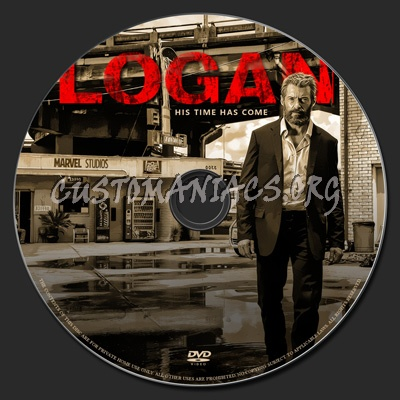 Logan dvd label