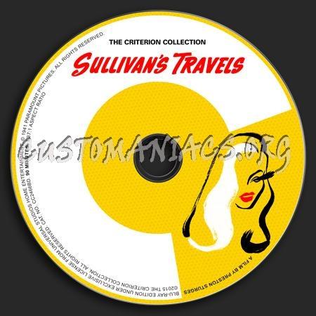 118 - Sullivan's Travels dvd label