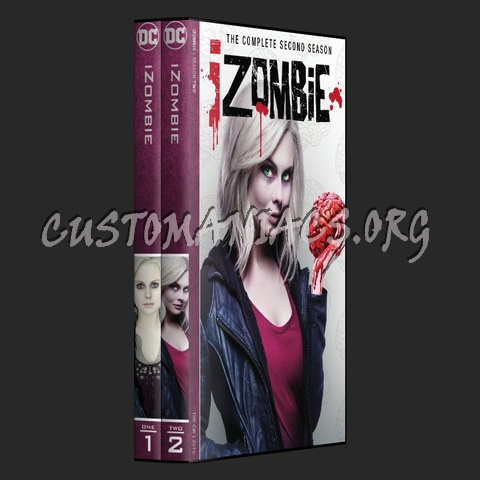 iZombie - DC TV series Collection dvd cover