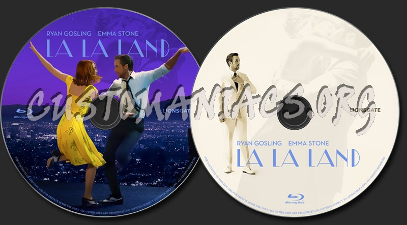 La la land blu ray label dvd covers labels by customaniacs id 244961 free download highres - La la land download ...