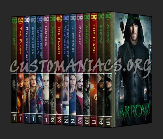 DC TV series Collection dvd cover