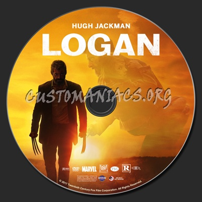 Logan dvd label