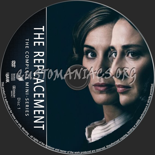 The Replacement Mini-Series dvd label