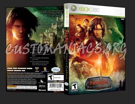 The Chronicles Of Narnia Prince Caspian dvd cover