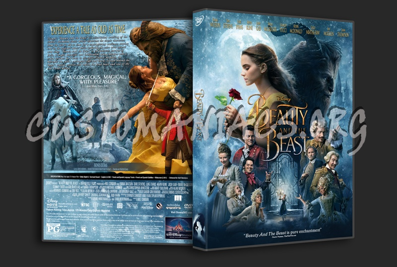 Beauty And The Beast (2017) dvd cover