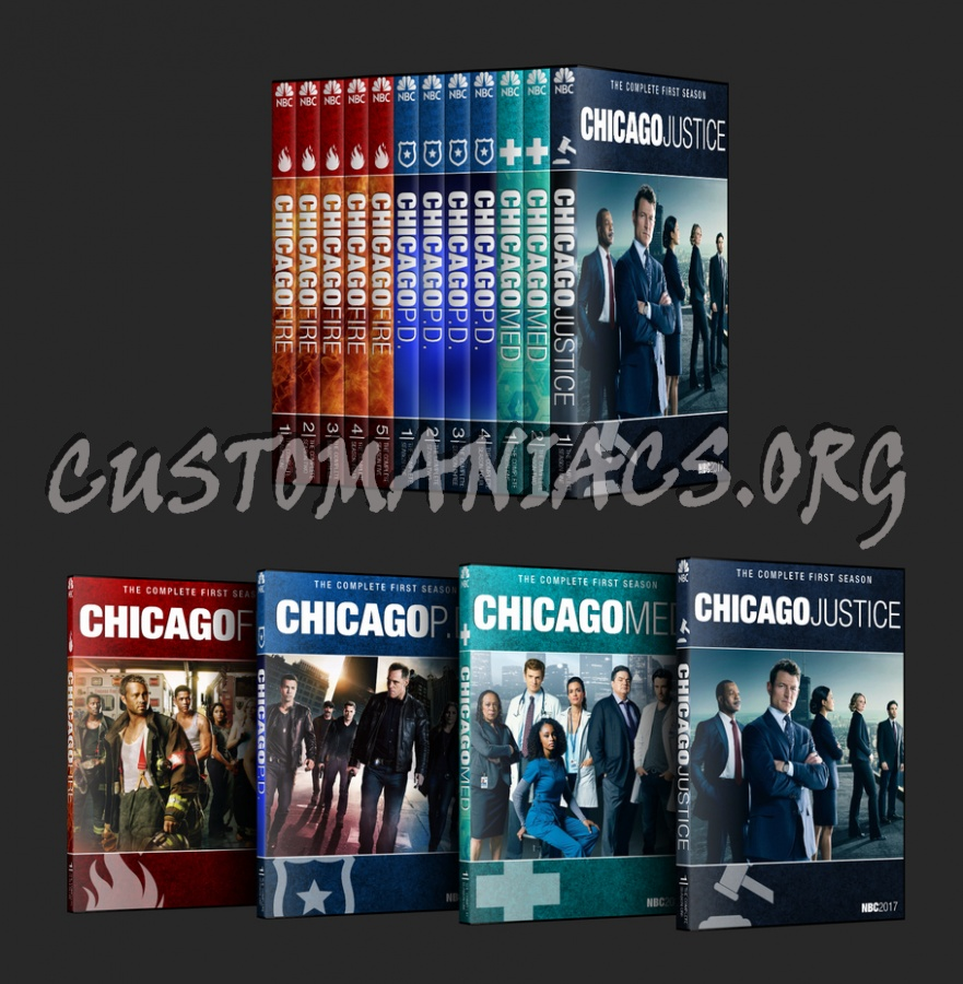 Chicago FIRE (Chicago Franchise Collection) dvd cover