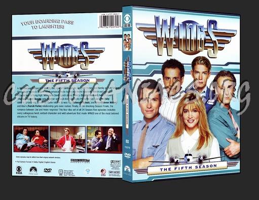 Wings - Season 5 dvd cover