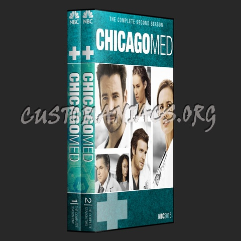 Chicago MED (Chicago Franchise Collection) dvd cover