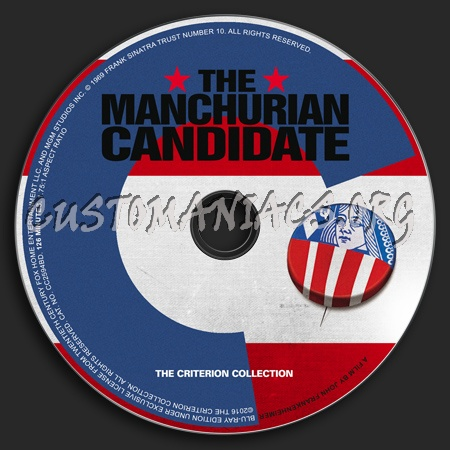 803 - The Manchurian Candidate dvd label