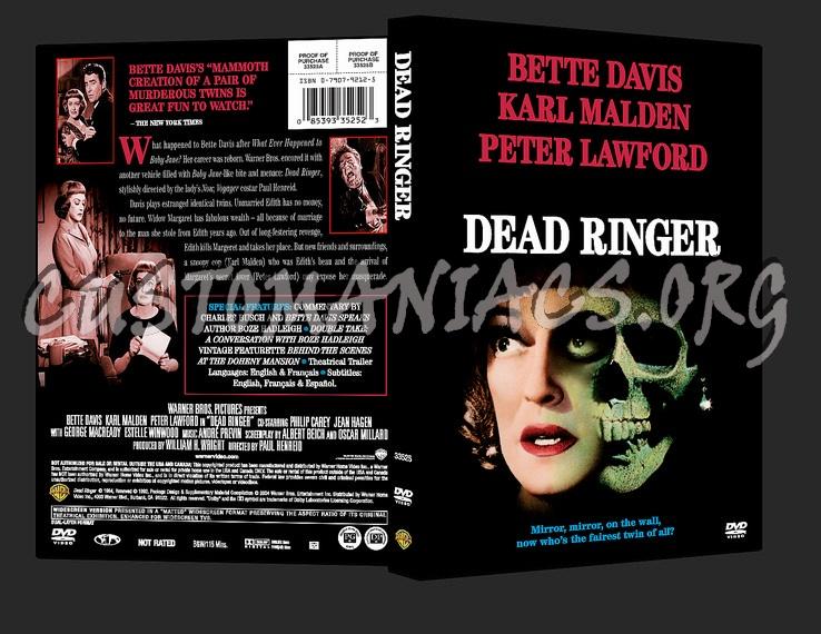 Dead Ringer dvd cover