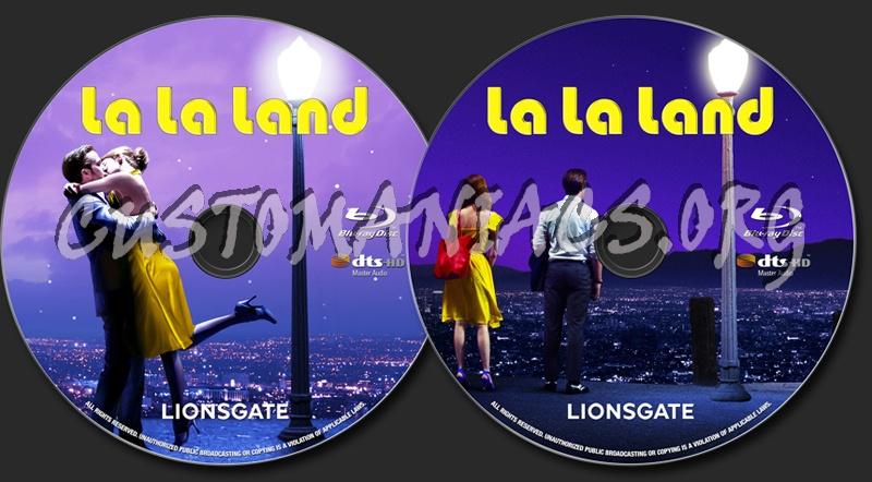 La la land blu ray label dvd covers labels by customaniacs id 245446 free download highres - La la land download ...