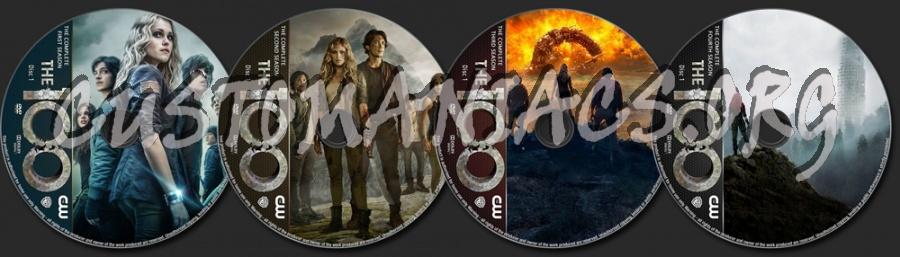 The 100 Seasons 1-4 dvd label